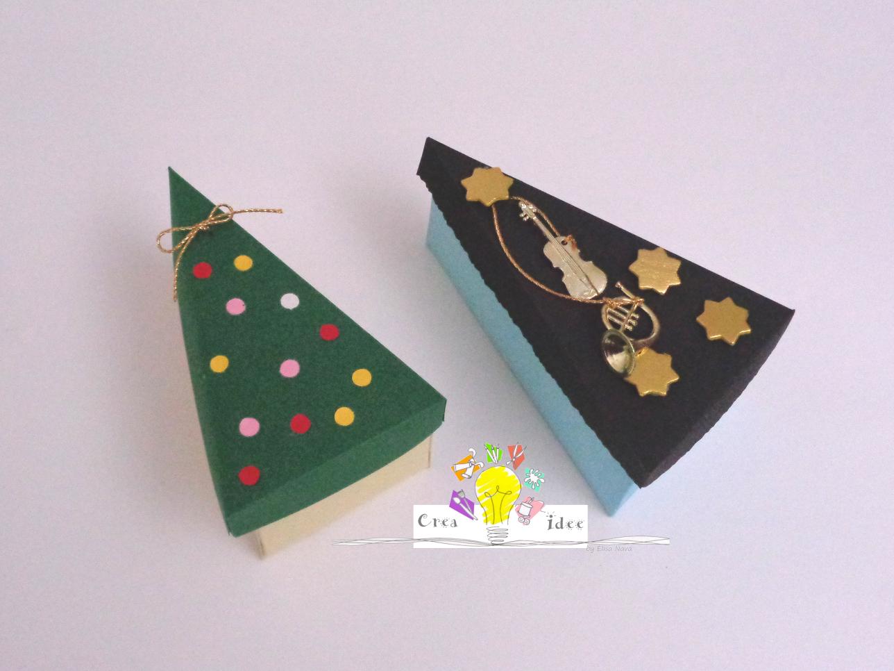 Scatole Per Regali Di Natale.Scatoline Natalizie Come Confezionare I Regali Di Natale Crea Idee