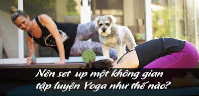 Nên set-up một không gian tập luyện Yoga như thế nào?