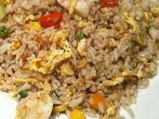 Nasi goreng seafood khas china
