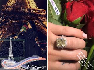Bre Tiesi Engagement Ring