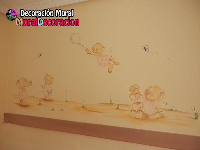 ratones_conejitos_murales_infantiles_valladolid_bebé