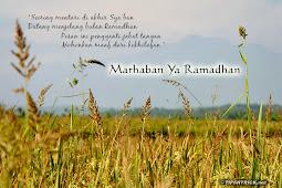 Bersua dengan Ramadhan (Kembali)