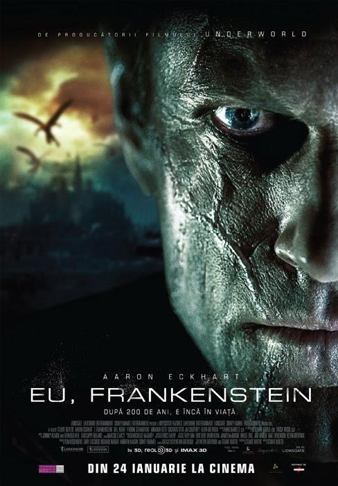 Poster românesc pentru filmul I, Frankenstein
