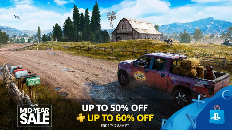 PlayStation Store's Massive Mid-Year Sale: 750+ Games Up To 50% Off