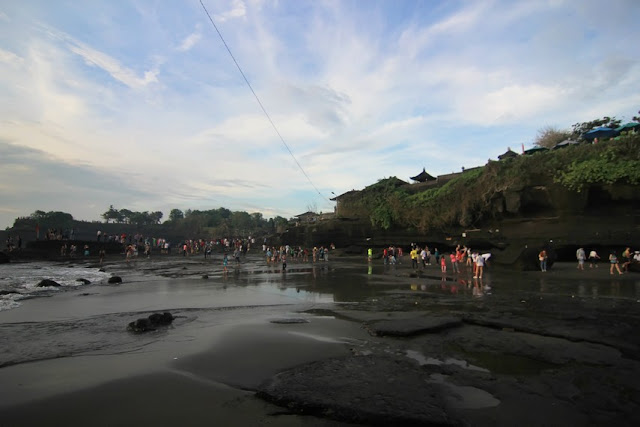 Tanah Lot, the Enchantment of Sunset at Pura Penaung Samudera