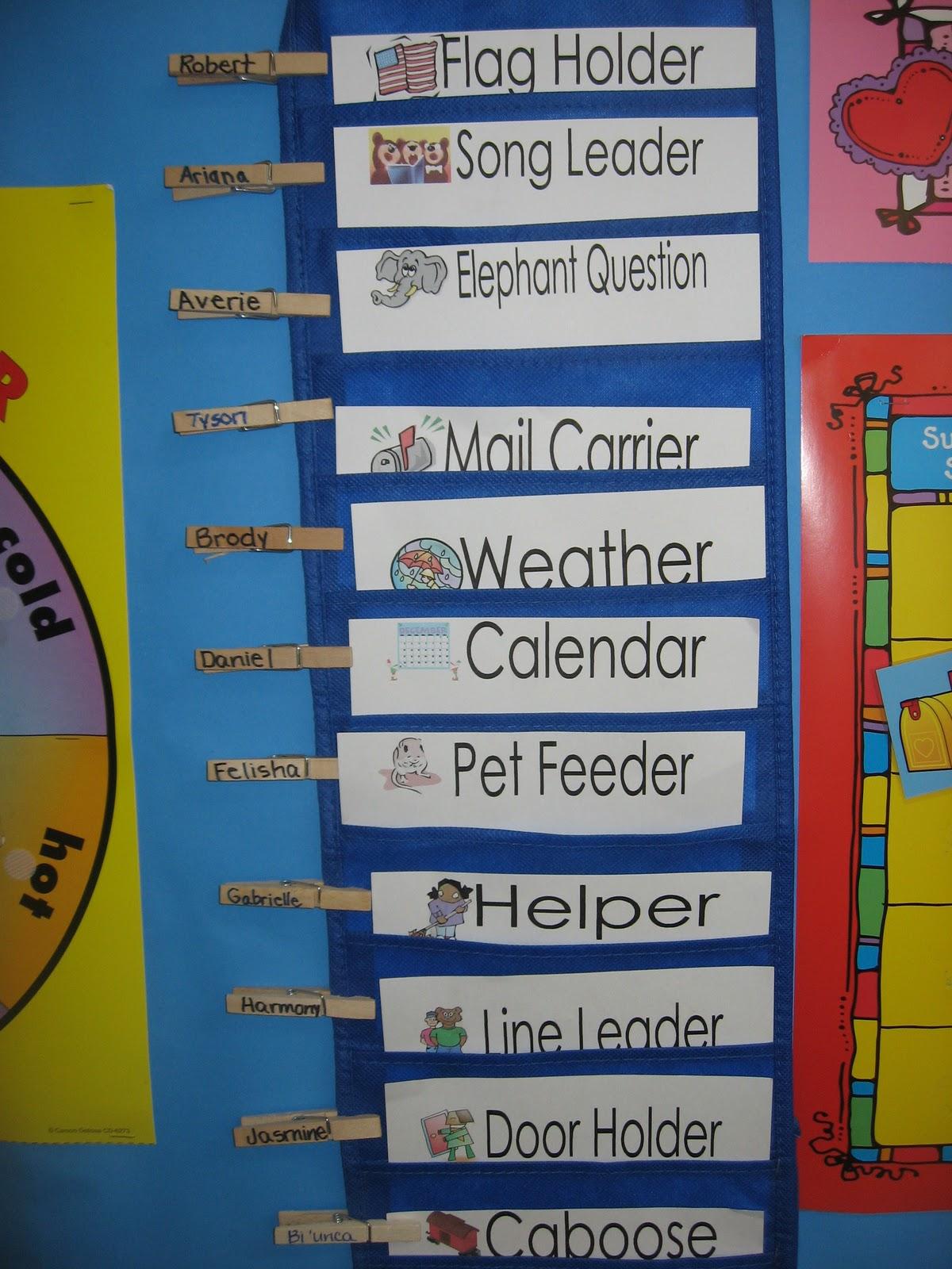 Kindergarten Classroom: Luv Pre-K: Circle Time (Jobs Part 1