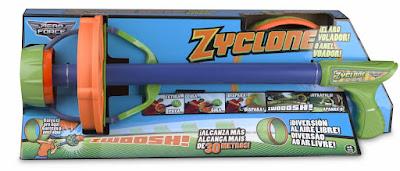 TOYS : JUGUETES - AERO FORCE Zyclone | Lanzador con aro Famosa 2016 | A partir de 6 años Comprar en Amazon España