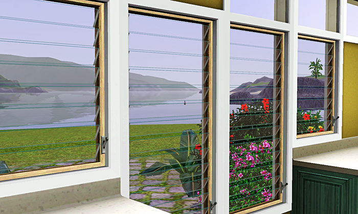 My Sims 3 Blog Florida Windows By Gelinabuilds