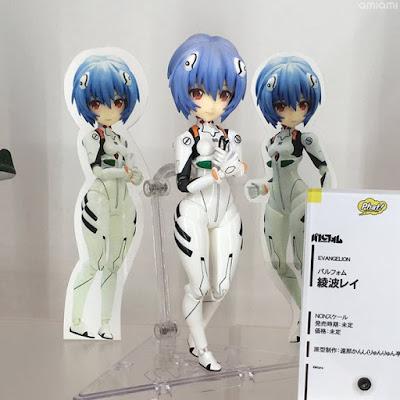 Parform Rei Ayanami de Evangelion