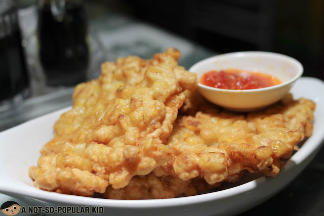 Corn Fritters of Warung Indo