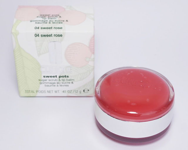 Clinique - Sweet Pots Sugar Scrub & Lip Balm (04 sweet rose)