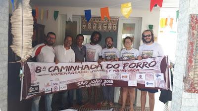COCAR DOA MATERIAL GRÁFICO DA CAMINHADA DO FORRÓ AO RISO DA TERRA