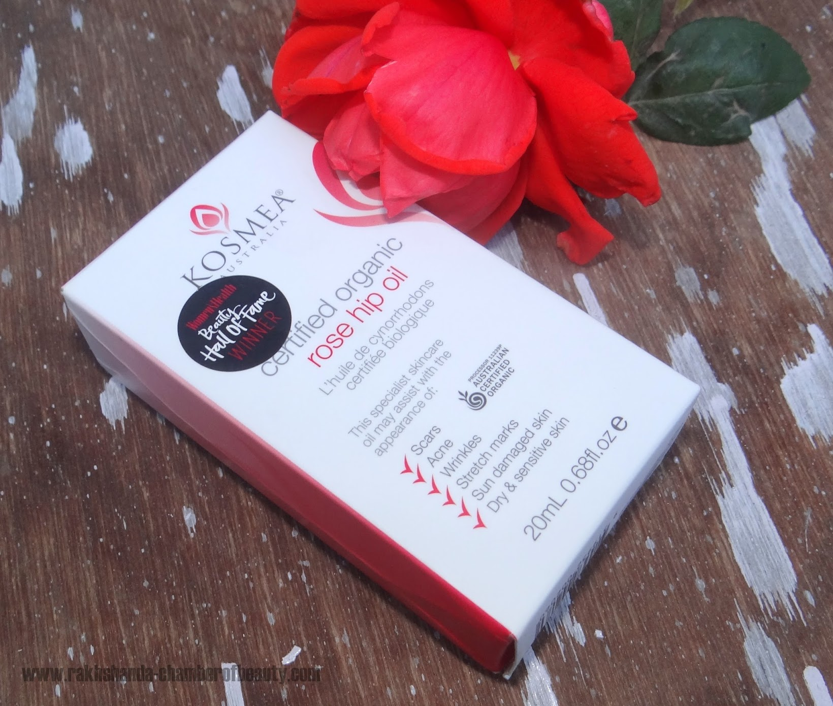 Kosmea Australia Rose Hip Oil-Review