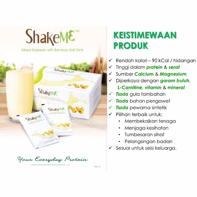 Keistimewaan & Kelebihan Shake Me (Shake M3)