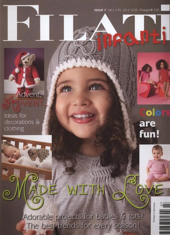 Revista Tricô Infantil-Filati Infantil