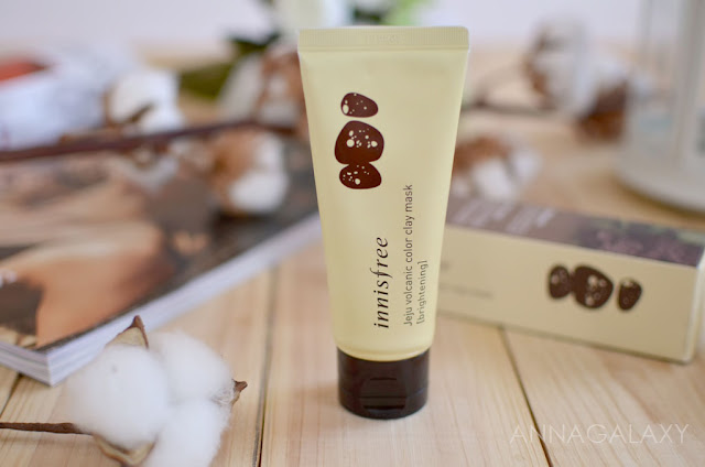 Отзывы Маска из глины для лица Innisfree Jeju Volcanic Color Clay Mask Brightening