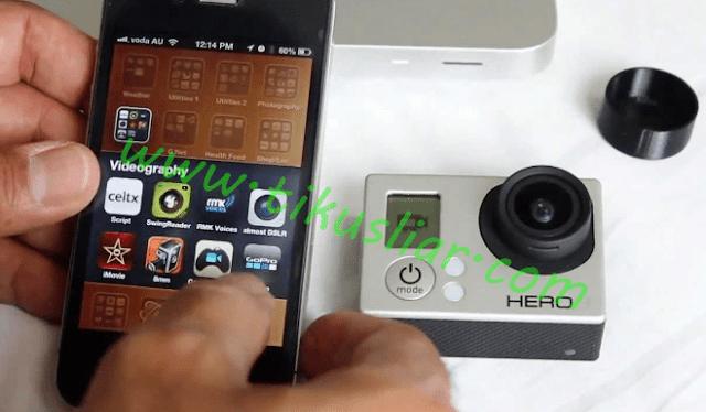 Cara Pake dan Conect Aplikasi Kamera Go-Pro