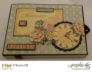 A Ladies Diary Photo Box Clare Charvill Graphic 45