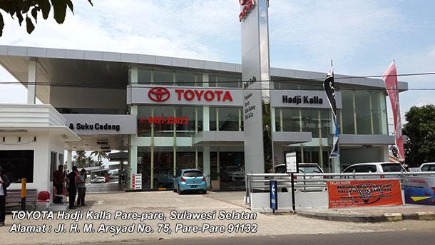 Harga Mobil TOYOTA Hadji Kalla PARE PARE, Sulawesi Selatan