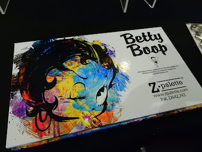 Limited Edition Betty Boop Z Palette at The Makeup Show New York 2016 - www.modenmakeup.com
