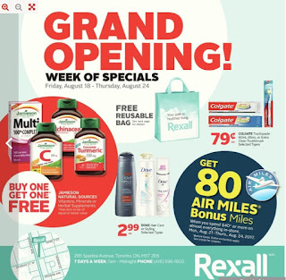 Rexall Weekly Flyer August 18 – 24, 2017