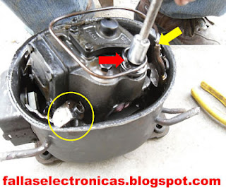 como desarmar un compresor de nevera