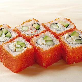 Икра в в суши