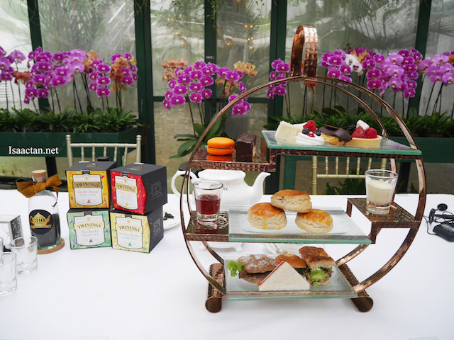 Majestic Hotel's Afternoon Tea Set