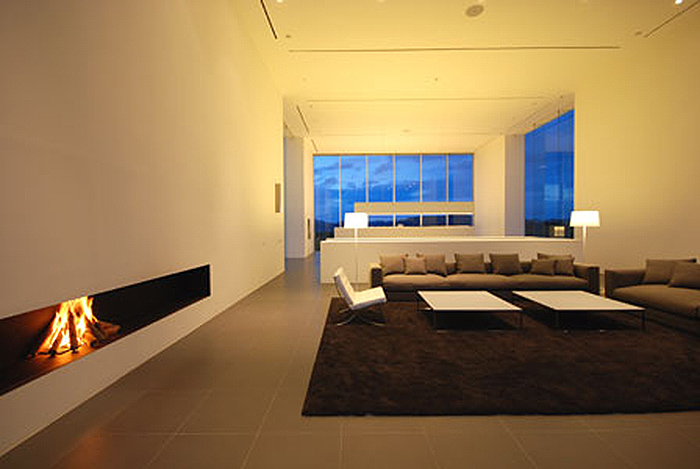 Living Room Floating Sofa