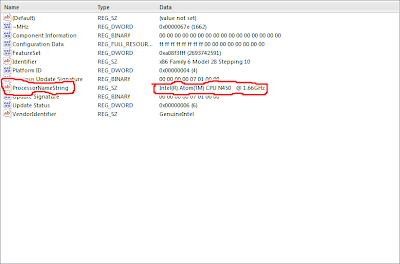 Intel r atom tm cpu n450