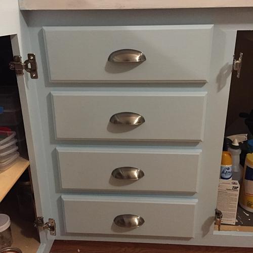 new drawer pulls