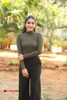 Tollywood Actress Punarnavi Bhupalam Latest Po Gallery in Black Trouser Pant at Pittagoda Movie Interview  0060.JPG