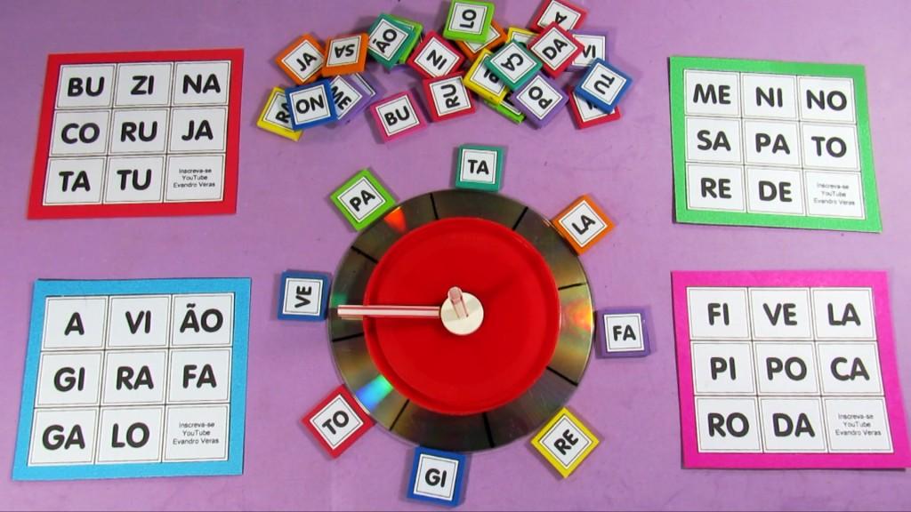 A Arte De Aprender Brincando Faca Um Super Bingo Silabico Passo