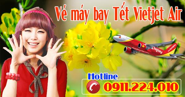 Nơi mua vé máy bay tết Vietjet Air uy tín
