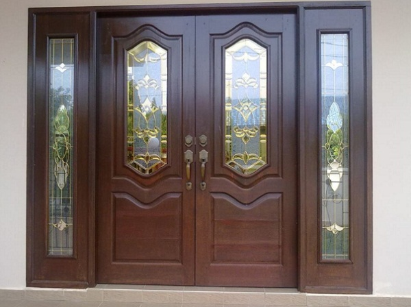 model pintu minimalis kupu tarung