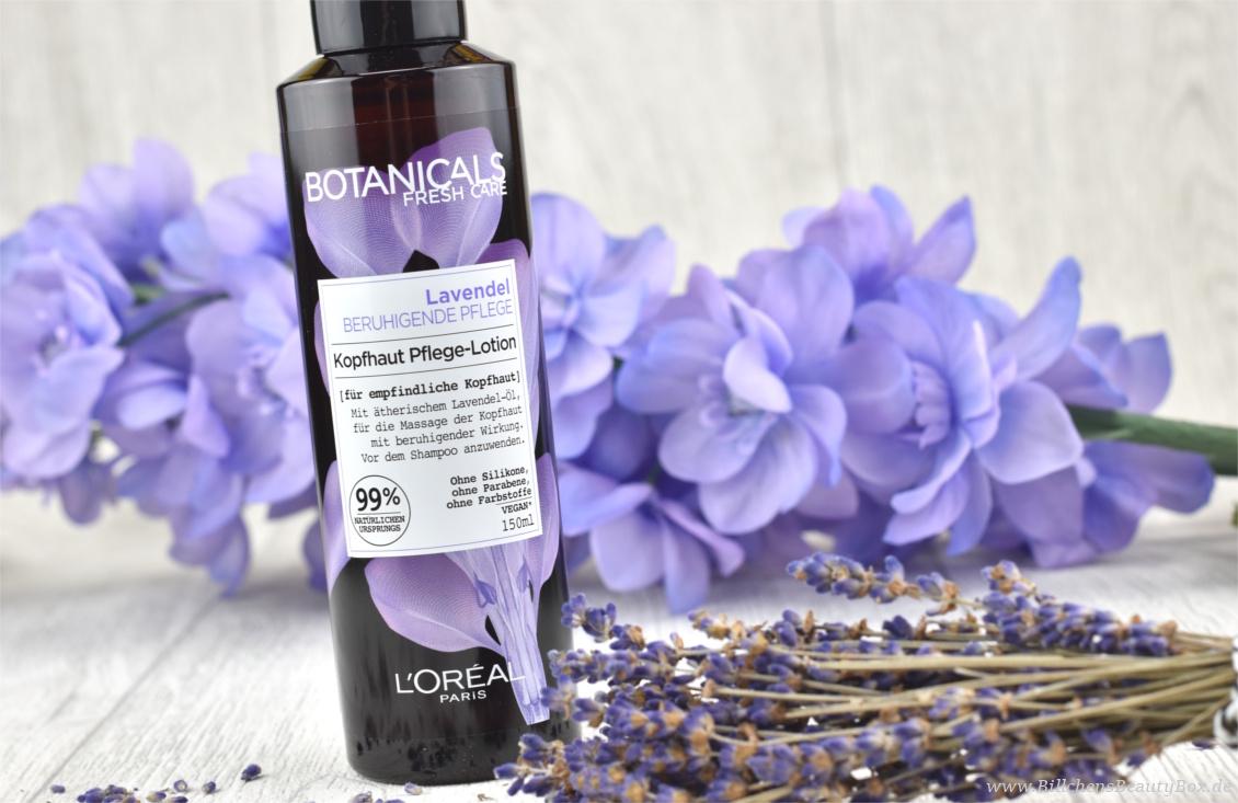 Review und Erfahrungsbericht zur L'Oréal Botanicals Lavendel Haarpflege Kopfhaut Pflege-Lotion