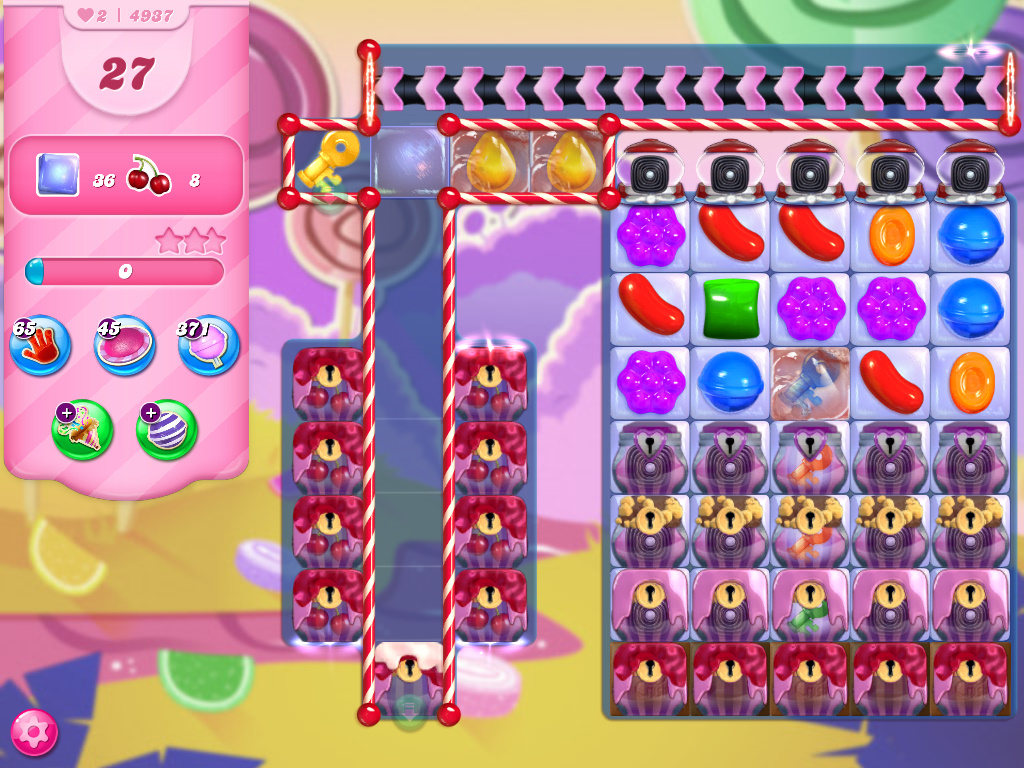 Candy Crush Saga level 4937