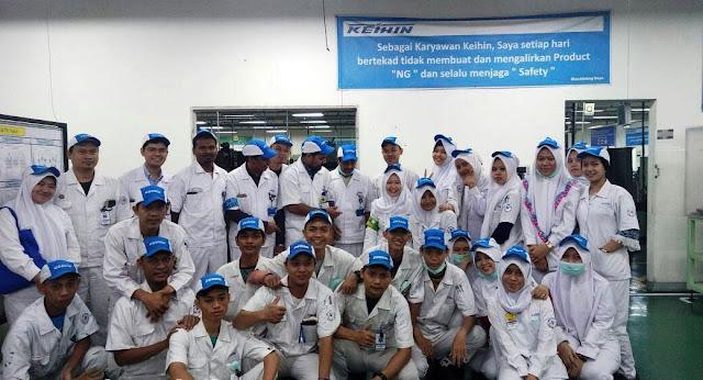 Lowongan Kerja Terbaru Jobs : Operator Ex Japan, Prod. Engineering Staff, Reception Admin HR Lulusan SMA SMK D3 S1 PT Keihin Indonesia