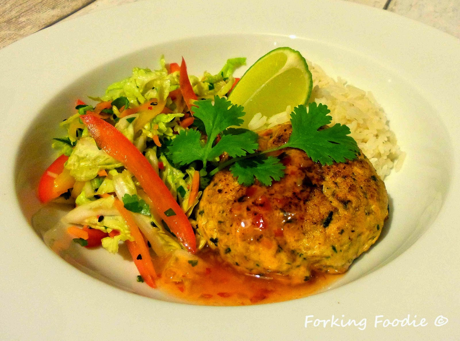 Spiced Salmon Fish Cakes Recipe