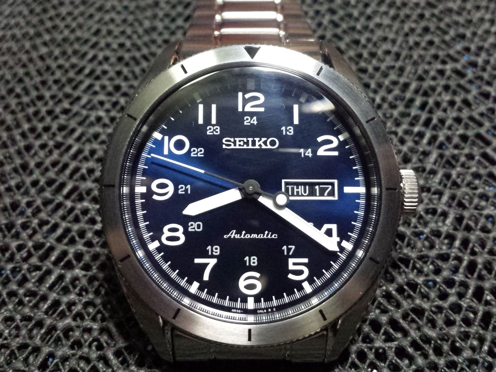 Seiko Srp Pinoy Watch Fan Seiko Neo Sports Blue Srp707