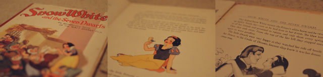 vintage-snow-white-book