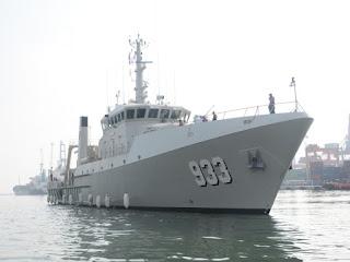 KRI Rigel (933) - Kapal Survey Hidro-Oceanografi (BHO) TNI AL