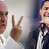 Jorge Celedón, le canta al Papa Francisco