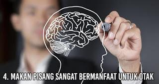 Makan Pisang sangat bermanfaat untuk otak