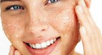 beauty routine viso, esfoliazione, gommage, peeling,