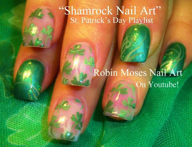 Robin Moses Nail Art St. Patrick' Day