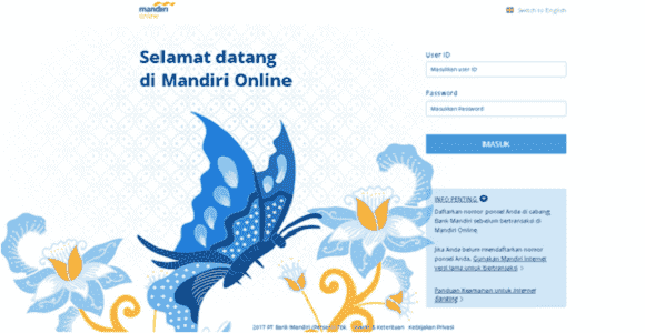 bayar belanja online lewat Bank Mandiri