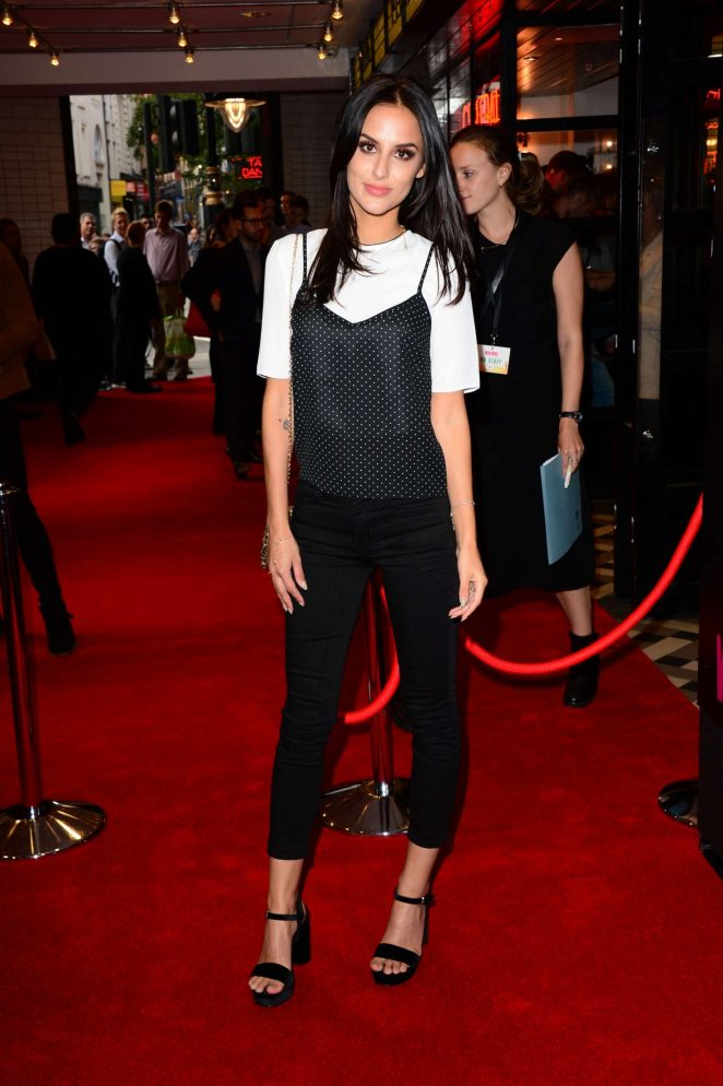 UK Journalist Lucy Watson At War Dogs UK Screening