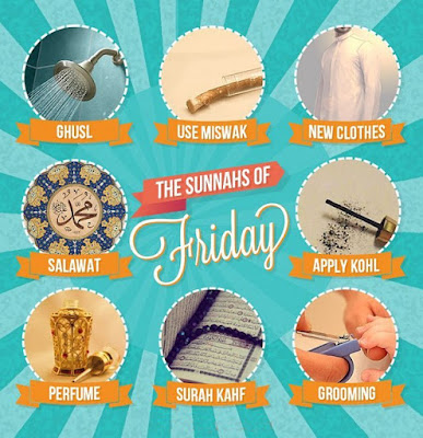 sunnah on friday or jummah