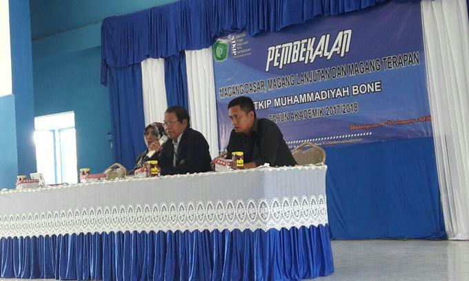 Ribuan Mahasiswa STKIP Muhammadiyah Bone Ikuti Pembekalan Magang